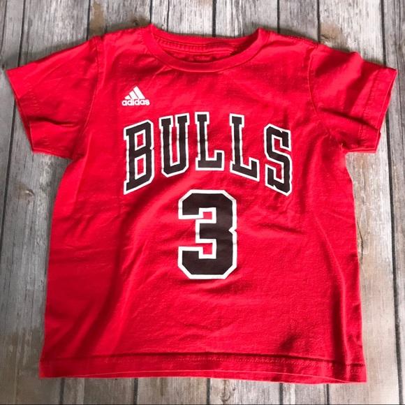 timeless design 6056e 1211e Adidas Chicago Bulls Toddler Tee